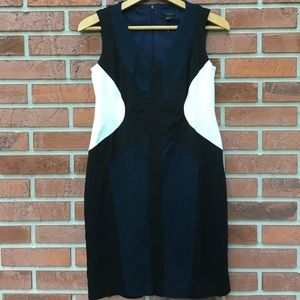 Ann Taylor Sleeveless Pencil Dress NWOT